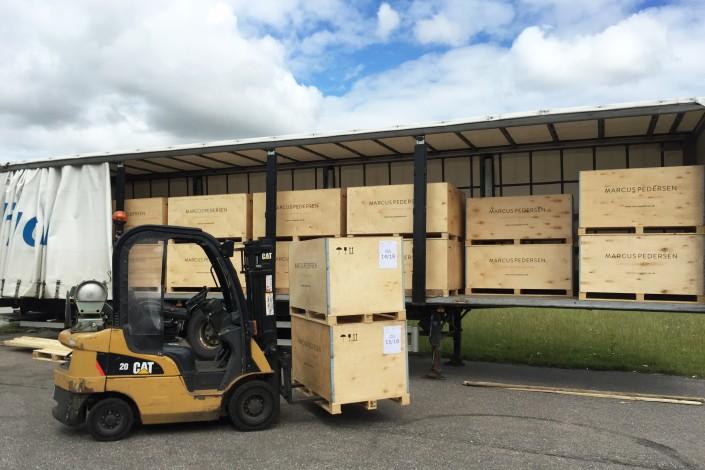 Marcus Pedersen shipping